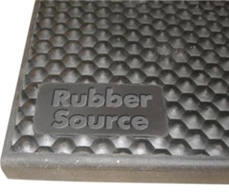 Vulcanized Virgin Rubber Tile